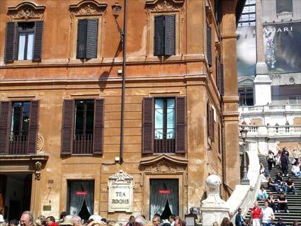 Babington's Tea Rooms, Rome