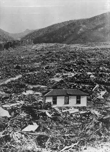 The Mātakitaki landslide