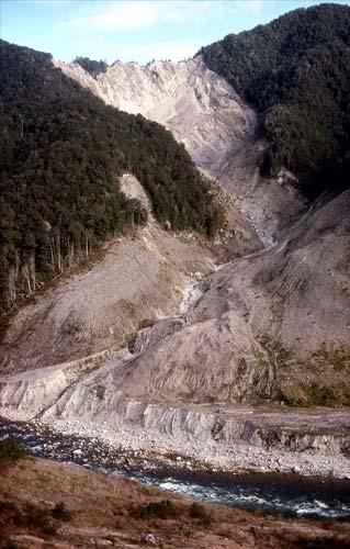 Buller Gorge landslide