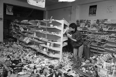 Shop damage