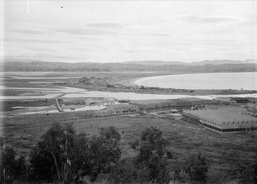 Ahuriri Lagoon after the earthquake