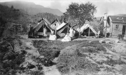 Typhoid camp
