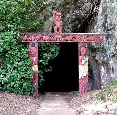 Muriwai's Cave