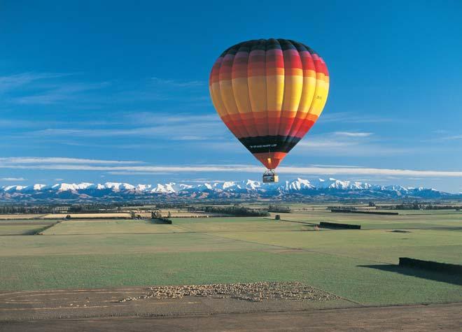 Balloons over Canterbury