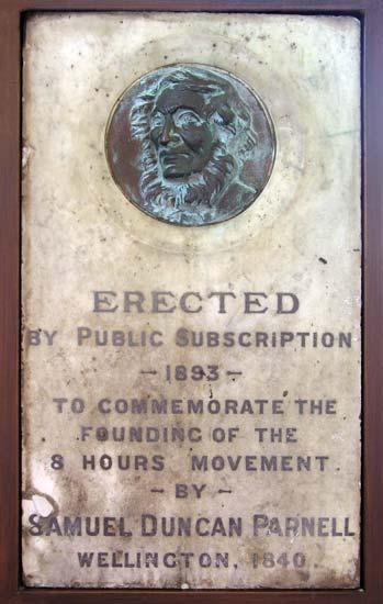 Samuel Parnell memorial