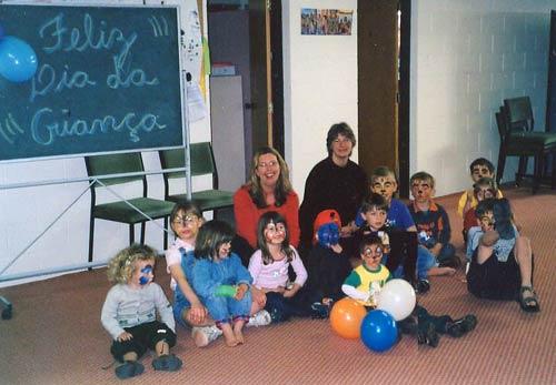 Children at the Brazilian Culture Education Centre