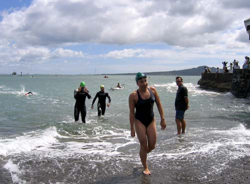 An open water competition