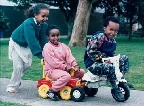 Somali children, Lower Hutt