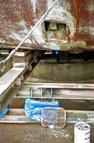 Trawler sea chest