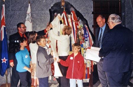 Presenting Maltese ribbons