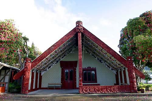 Te Tokanga-nui-a-noho meeting house, Te Kūiti