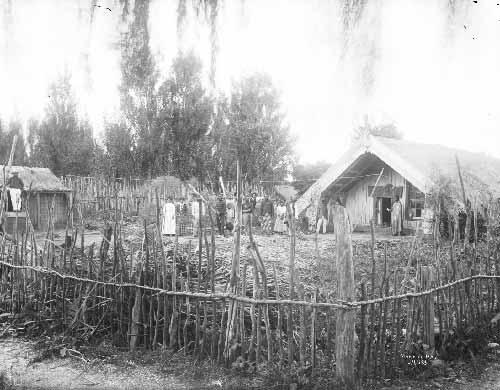 Welcome onto the marae, 1880s