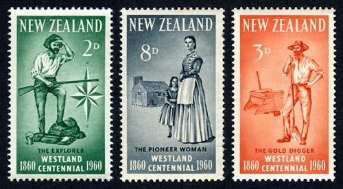 Westland centennial stamps