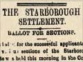 Starborough settlement ballots