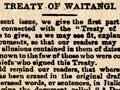 Te Wananga newspaper
