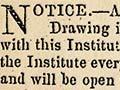 Port Nicholson Mechanics' Institute, 1849