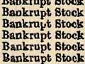 Sale of bankrupt stock