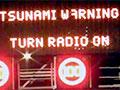 Tsunami warning sign, Wellington