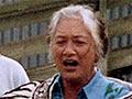 Erihapeti Rehu-Murchie as kaikaranga, 1990